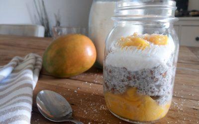 Chiapudding met Kokos en Mango Recept